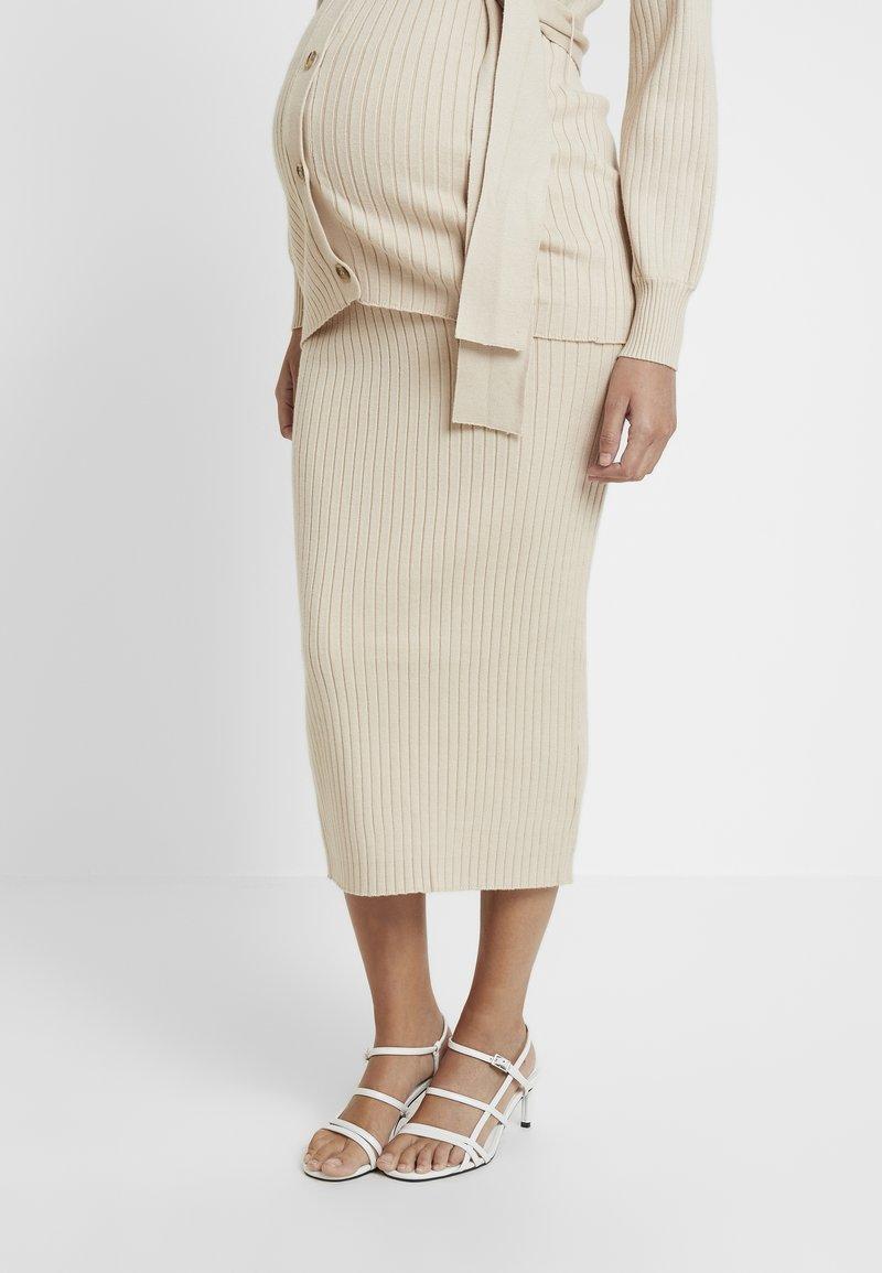 Glamorous Bloom - SKIRTS - Pencil skirt - stone