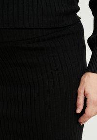 Glamorous Bloom - SKIRTS - Pouzdrová sukně - black - 4
