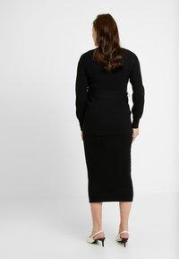 Glamorous Bloom - SKIRTS - Pouzdrová sukně - black - 2