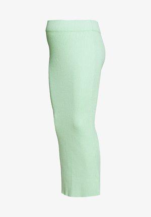 CARE MIDI SKIRT - Falda de tubo - pistachio