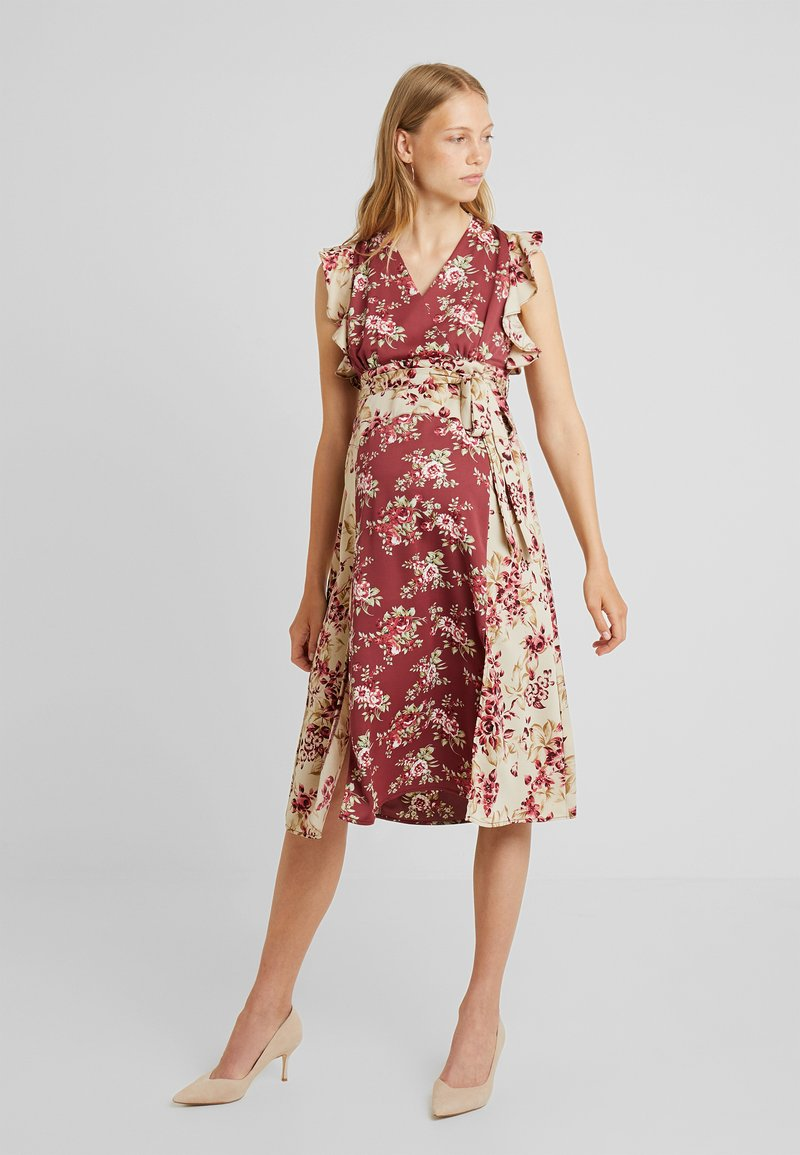 Glamorous Bloom - MIXED PATTERN MIDI DRESS - Vestido informal - vintage