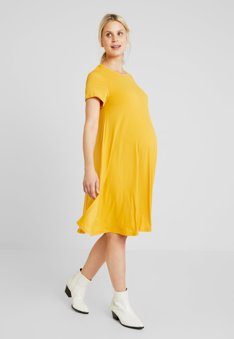 Glamorous Bloom - MINI PLAIN DRESS - Jerseykleid - mango