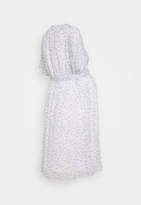 Glamorous Bloom - PIN SPOT WRAP DRESS - Denní šaty - white/lavender - 1