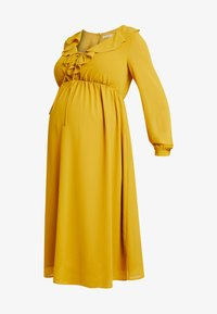 Glamorous Bloom - MIDI LONGSLEEVE DRESS - Denní šaty - mustard - 3
