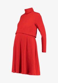 Glamorous Bloom - DRESS - Jerseykjole - dark rust - 5