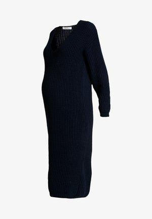 COSY JUMPER DRESS - Strickkleid - navy