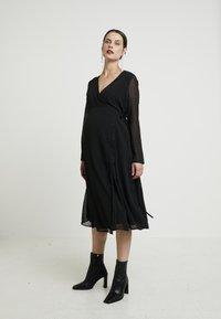 Glamorous Bloom - DRESSES - Denní šaty - black - 0