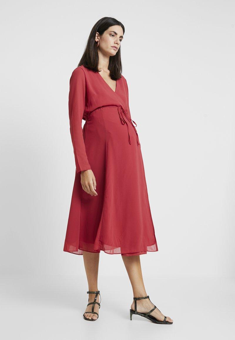 Glamorous Bloom - DRESSES - Denní šaty - red