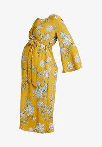 Glamorous Bloom - Denní šaty - dark ochre - 4