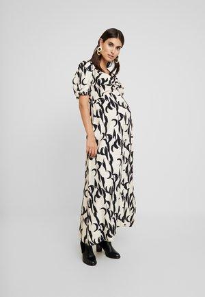 DRESSES - Maxi šaty - stone/black