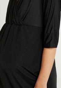Glamorous Bloom - DRESS - Žerzejové šaty - black - 6