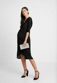 Glamorous Bloom - DRESS - Žerzejové šaty - black - 2