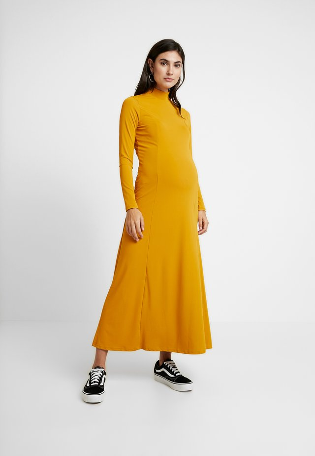 DRESS - Maksimekko - mustard
