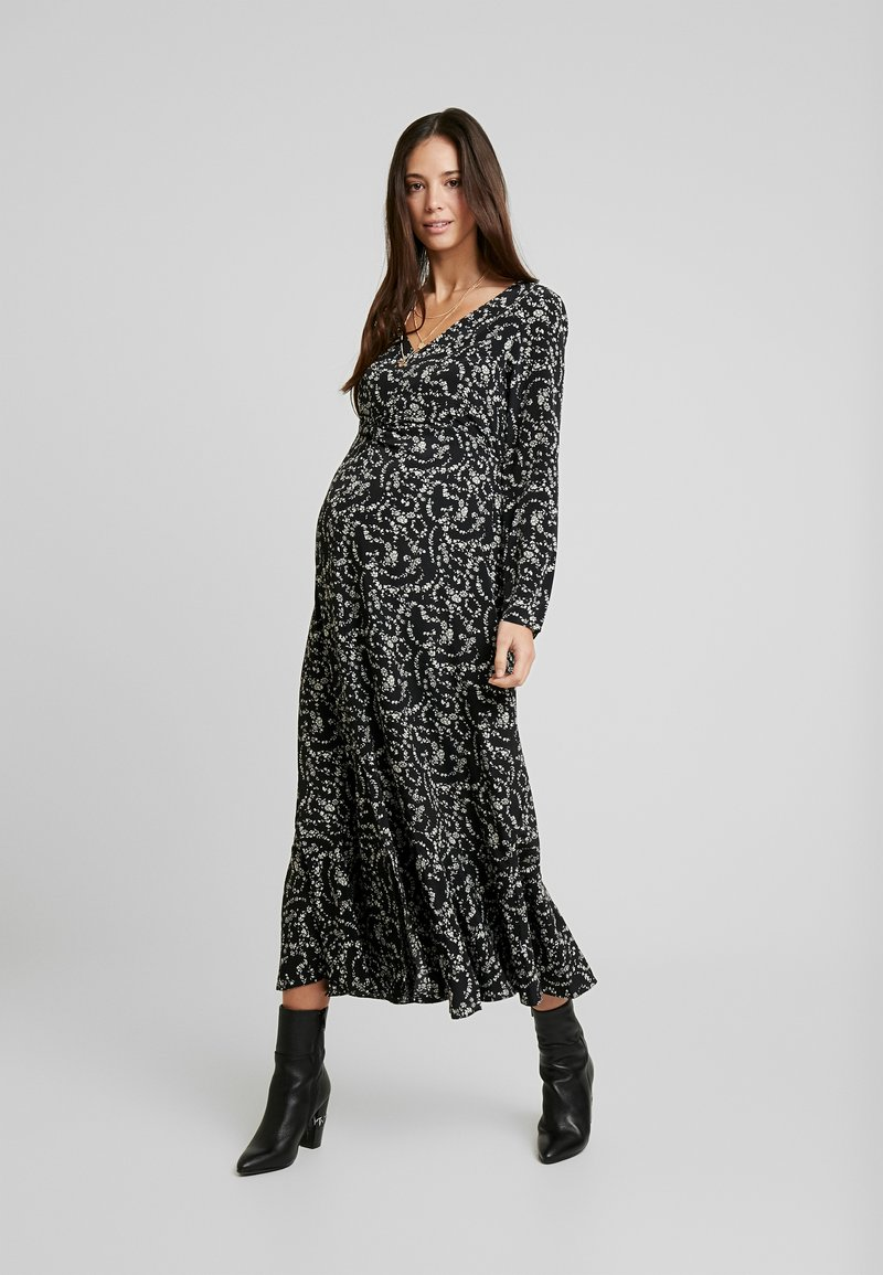 Glamorous Bloom - DRESS - Denní šaty - black cream winter ditsy