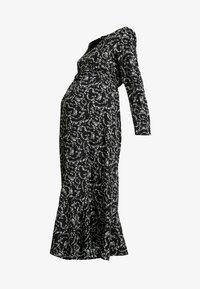 Glamorous Bloom - DRESS - Denní šaty - black cream winter ditsy - 4