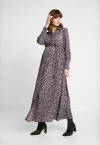 Glamorous Bloom - DRESS - Maxiklänning - burgundy winter ditsy - 0