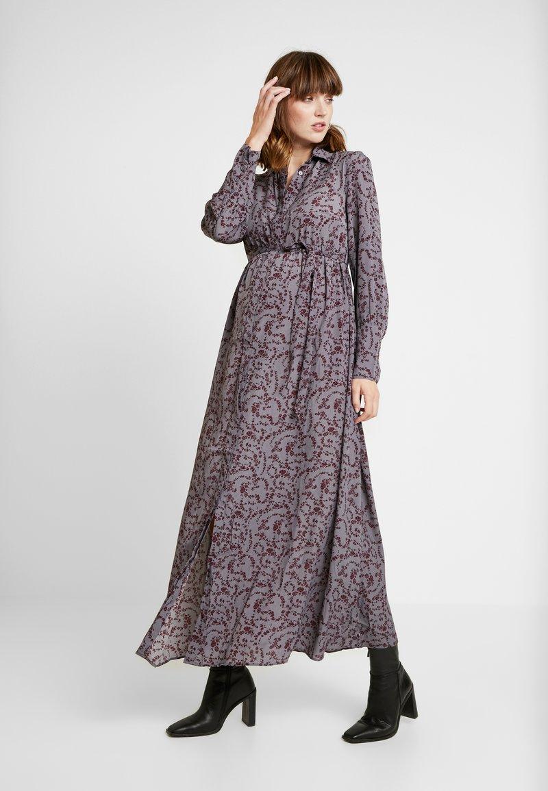 Glamorous Bloom - DRESS - Maxiklänning - burgundy winter ditsy