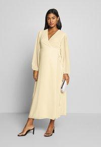 Glamorous Bloom - DRESS - Sukienka letnia - pale yellow - 1
