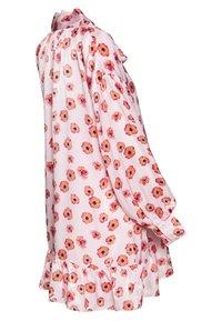 Glamorous Bloom - MINI PUSSYBOW DRESS - Day dress - pink - 1
