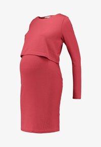 Glamorous Bloom - PLAIN NURSING DRESS - Vestido ligero - marsala - 4