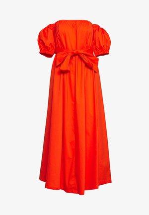 DRESS - Denní šaty - red orange