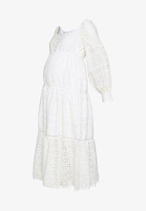 DRESS - Korte jurk - off white