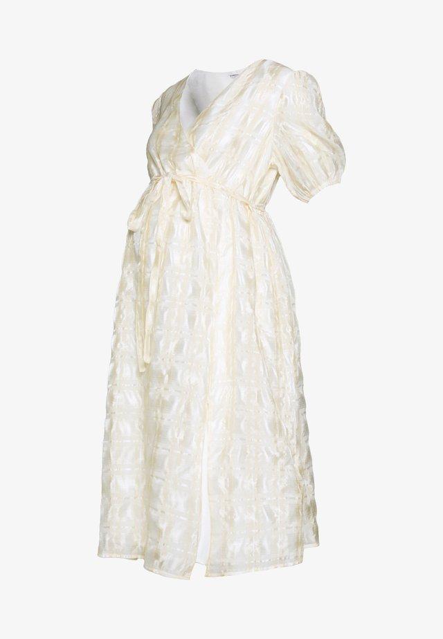 DRESS - Denní šaty - cream