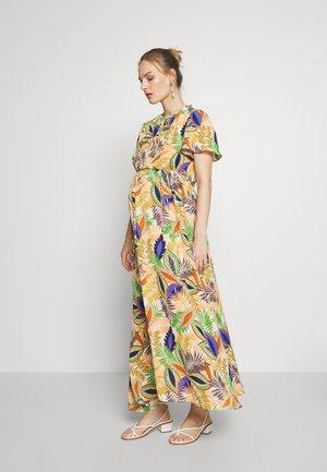 DRESS - Sukienka z dżerseju - african