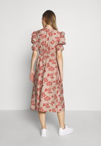 Glamorous Bloom - DRESS - Sukienka letnia - stone/rust flower - 2