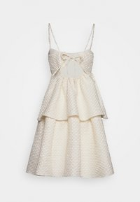 Glamorous Bloom - TIEREDWOW STRAPPY OPEN BACK DRESS - Sukienka koktajlowa - cream - 1