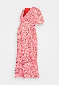 Glamorous Bloom - WRAP DRESS - Vestido informal - red/white - 0