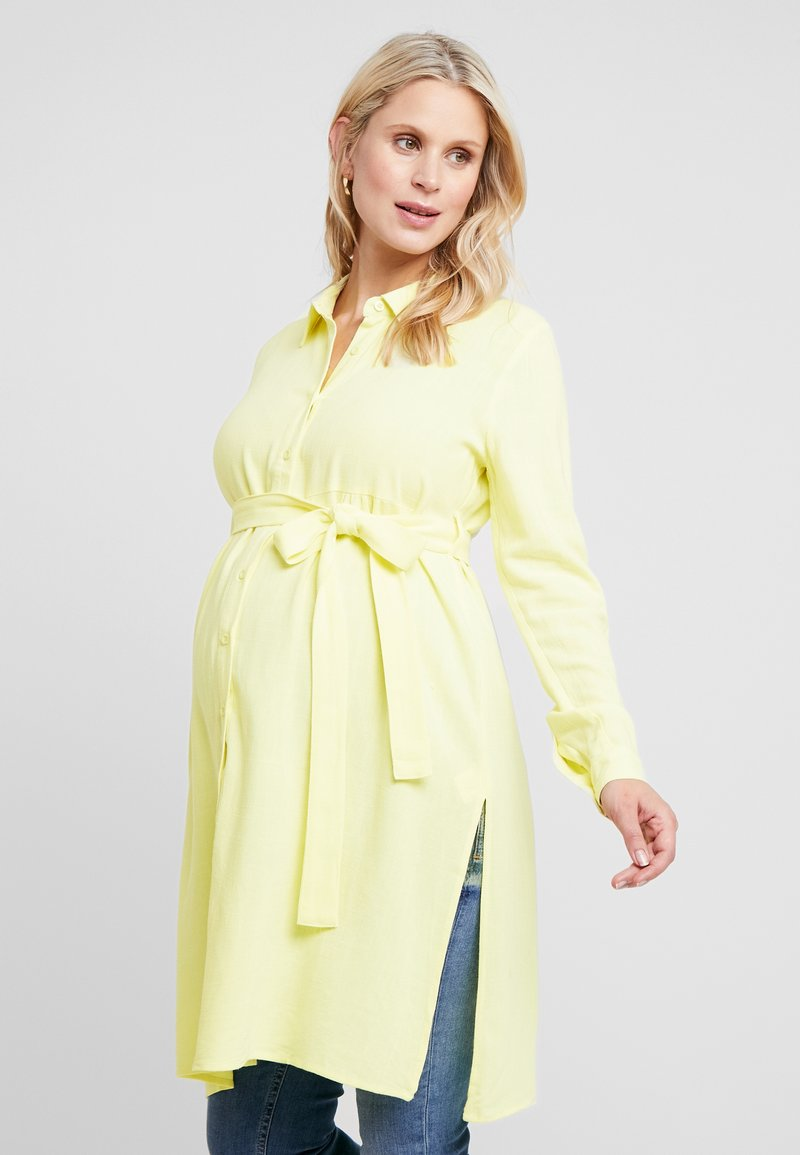 Glamorous Bloom - LONGLINE - Skjorte - yellow lemon