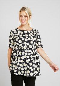 Glamorous Bloom - DAISY - Pusero - black/yellow - 3