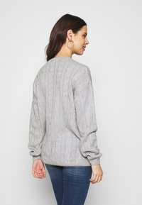 Glamorous Bloom - CABLE KNIT - Svetr - grey - 2