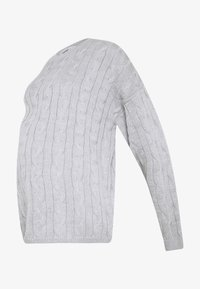 Glamorous Bloom - CABLE KNIT - Svetr - grey - 3