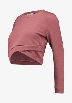 Sweatshirts - violet pink