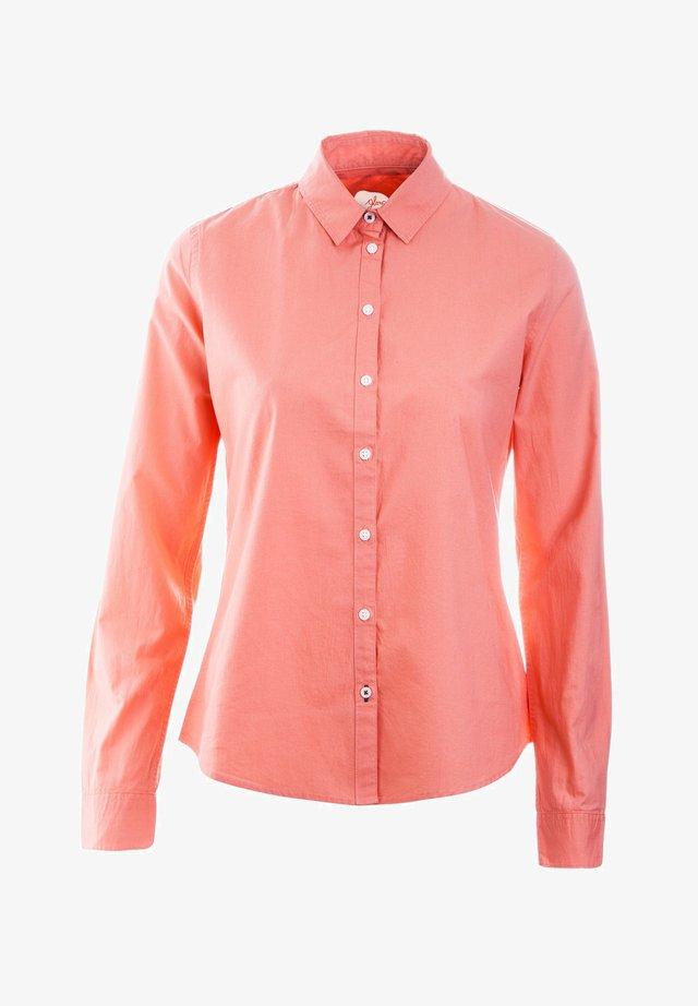 BLUSE AGNES - Button-down blouse - apricot