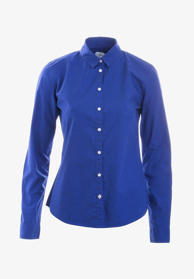 BLUSE AGNES - Button-down blouse - deeproyalblue