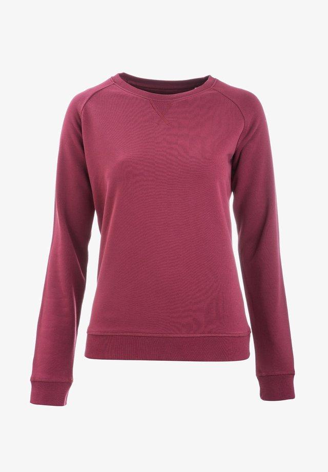 JOSEFA - Sweatshirt - burgundy