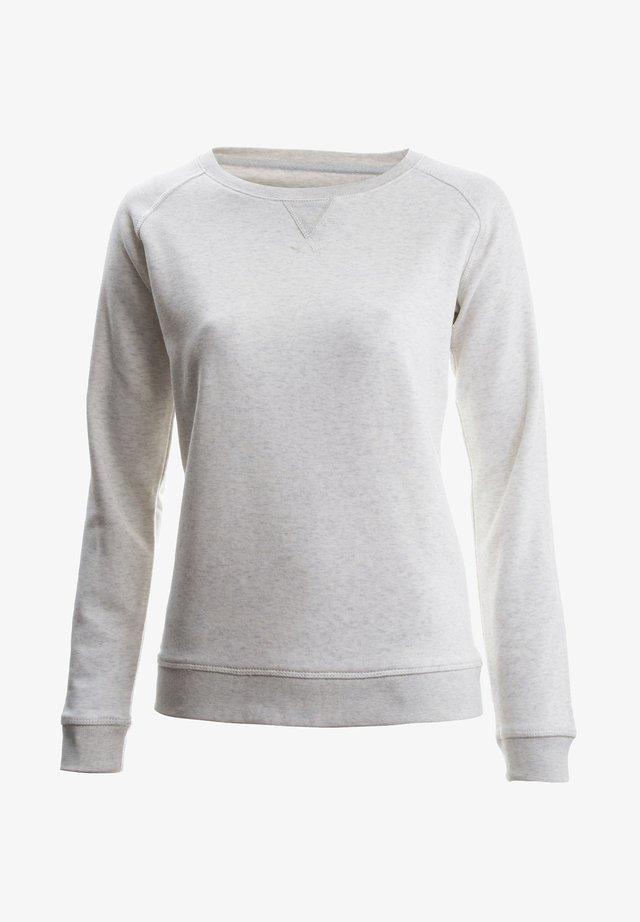 JOSEFA MELIERT - Sweatshirt - cream heather grey