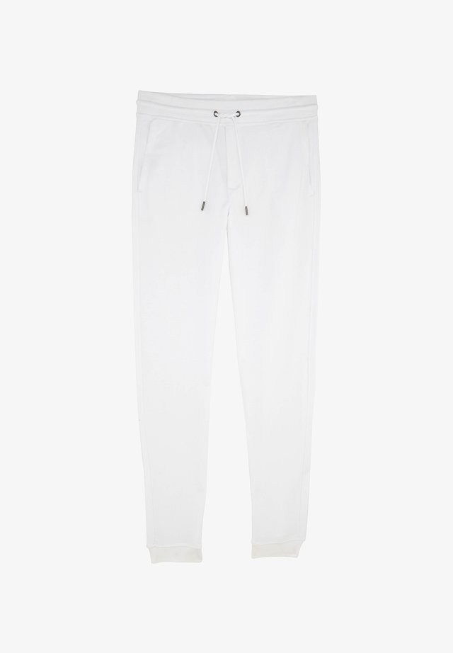 ALFONS - Tracksuit bottoms - white