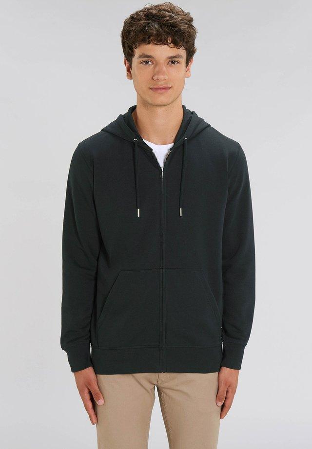 JACKE SEPP - Zip-up hoodie - black