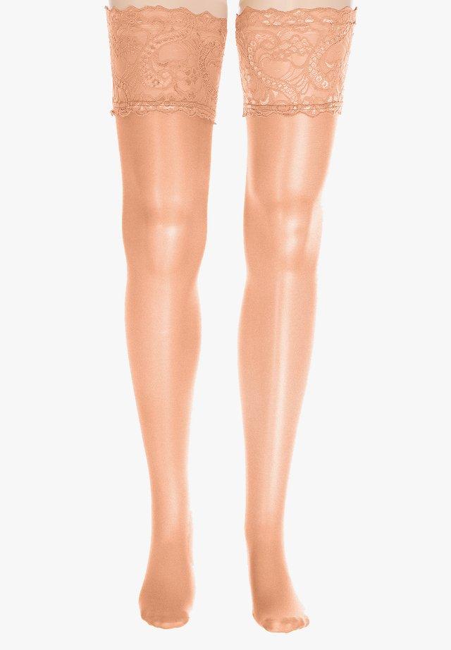 HOLD UPS  - Over-the-knee socks - teint