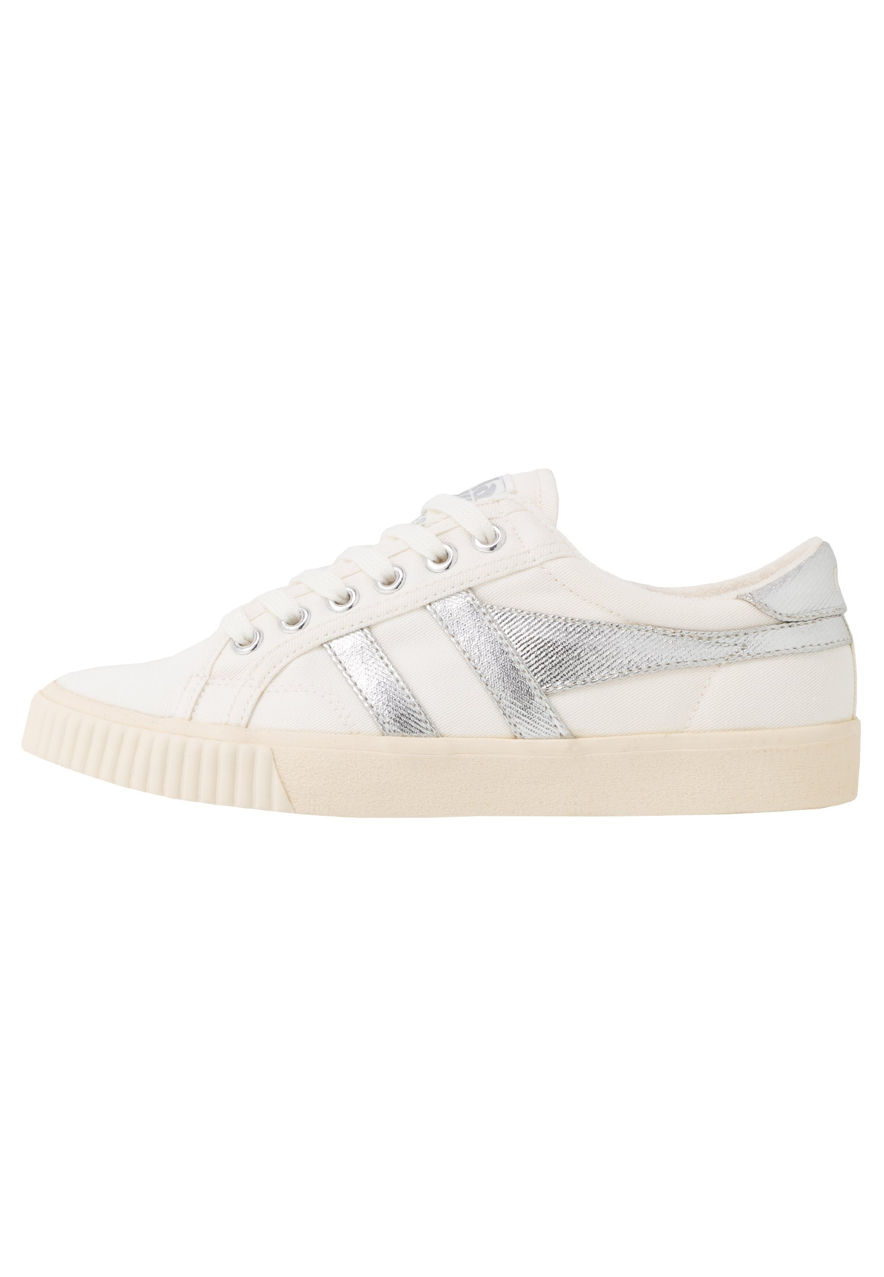 Gola TENNIS MARK COX - Sneaker low - off white/silver jhYUpH