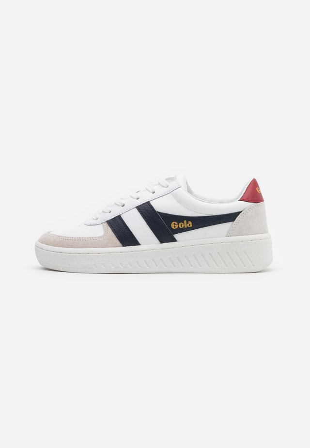 GRANDSLAM CLASSIC - Trainers - white/navy/deep red