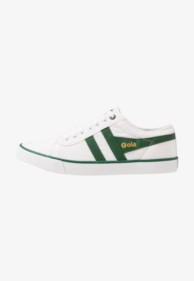 COMET - Joggesko - white/dark green