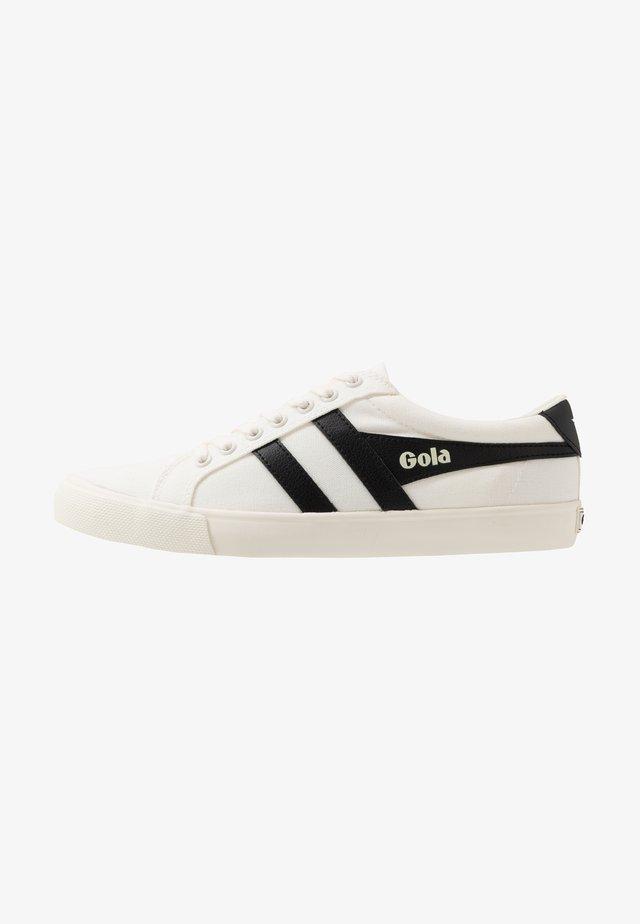 VARSITY VEGAN - Sneakers - offwhite/black