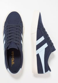 Gola - VARSITY - Trainers - navy/powder blue