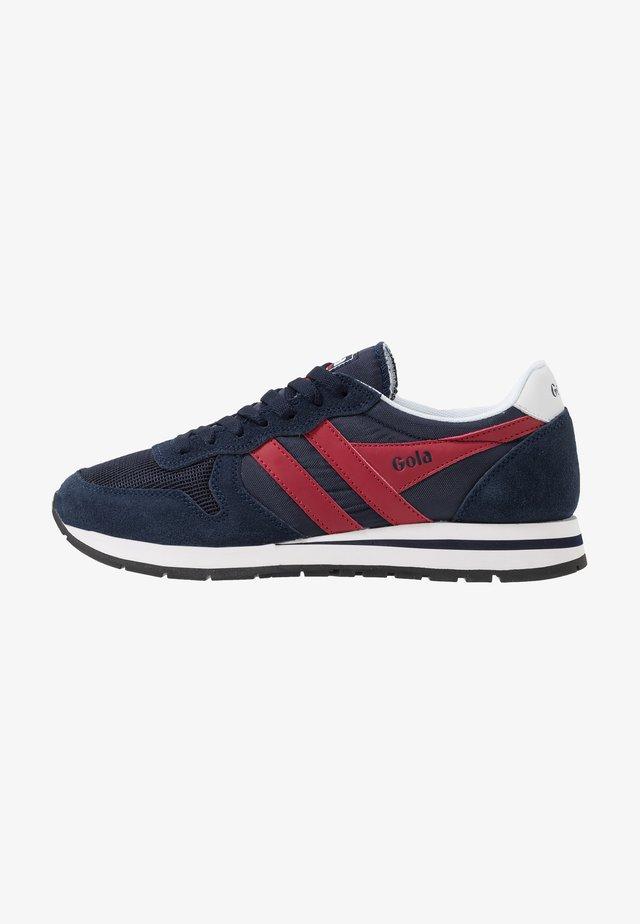 DAYTONA - Sneaker low - navy/red/white