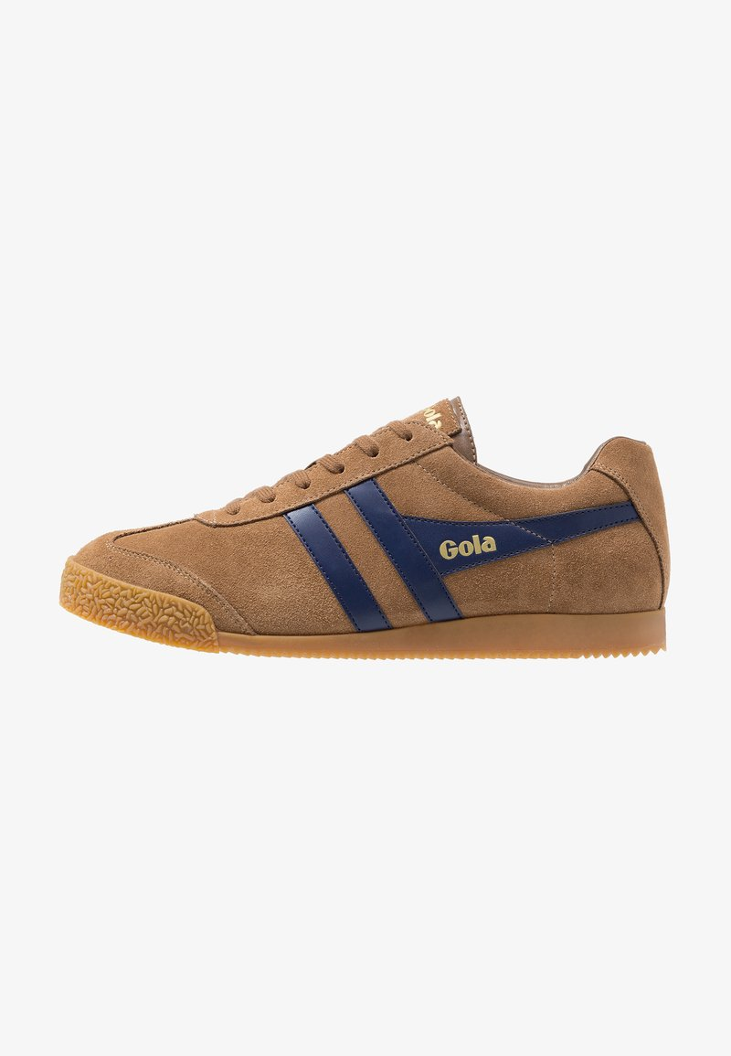 Gola - HARRIER - Sneakersy niskie - caramel/navy